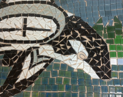 Bill Hoopes: McBride Annex Community Mosaic 5 Nipping