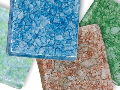 Interstyle Aquarius Glass Tile