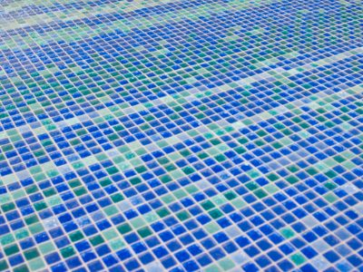 Vancouver Convention Centre Floor Mosaic Glass Tiles from Interstyle