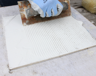 How To Lay Mosaic Tile Sheets About Glass Tile