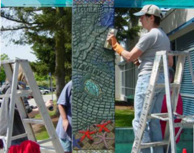 Connie Glover: Making a Community Mosaic 1