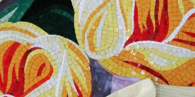 Glass mosaic image from Flickr.com / colorbuilding